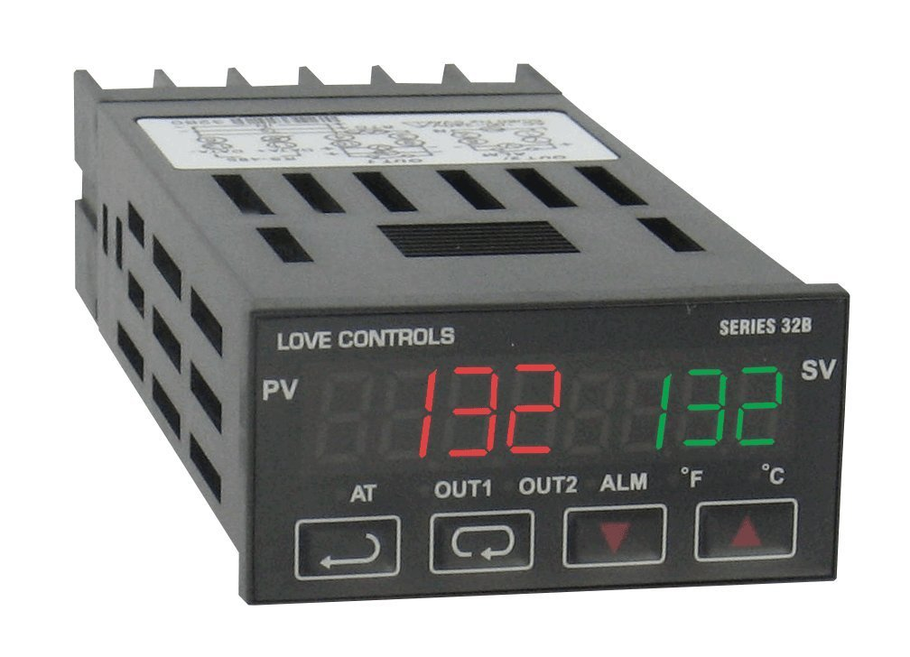 "1/32 DIN temperature/process controller ""Dwyer"" Model 32B-33"