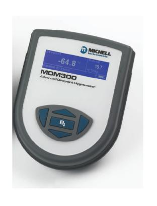 "Advanced Portable Dew Point Hygrometer ""Michell"" Model MDM300-ST"