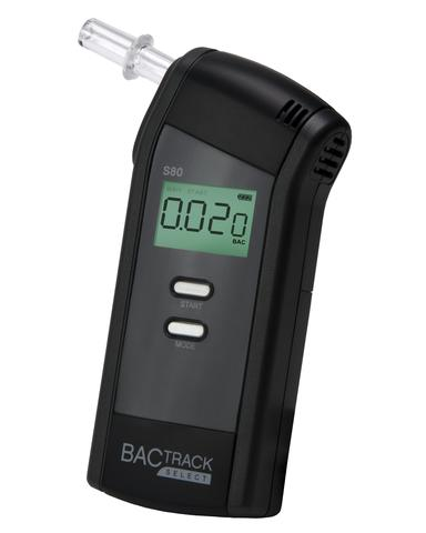 "Breathalyzer ""BACtrack"" Model S80"