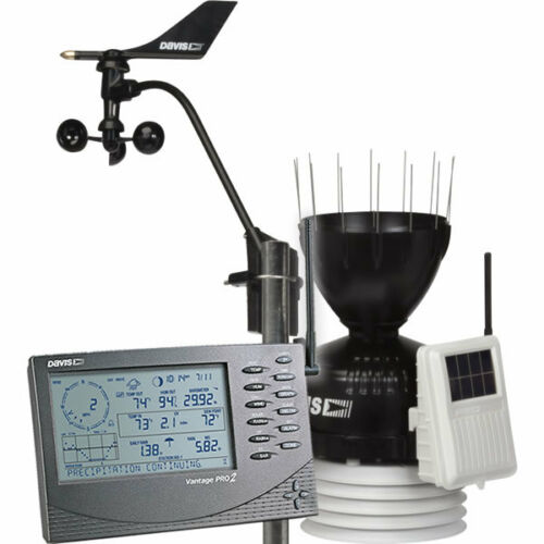 "Cabled Vantage Pro2 Weather Station ""Davis"" Model 6152C"
