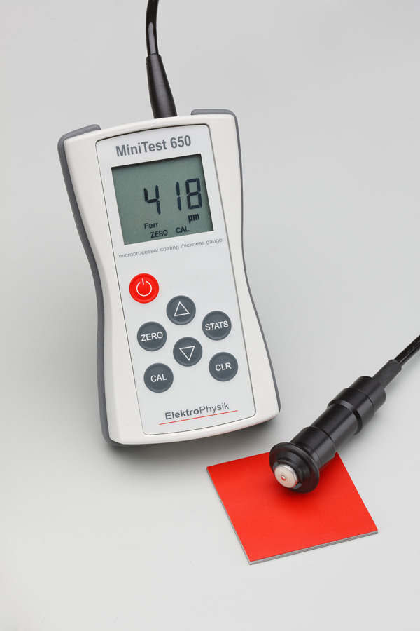 "Coating Thickness Gauge ""ElektroPhysik"" Model MiniTest 650F"