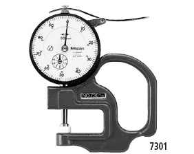 "Dial thickness guage ""Mitutoyo"" 7301"