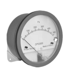 "Differential Pressure Gauge ""SyxthSense"" Model DPG3K"