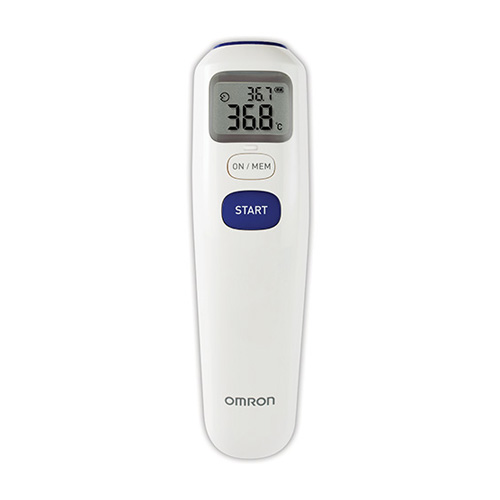 "Digital Contactless Forehead Thermometer ""Omron"" Model MC-720"