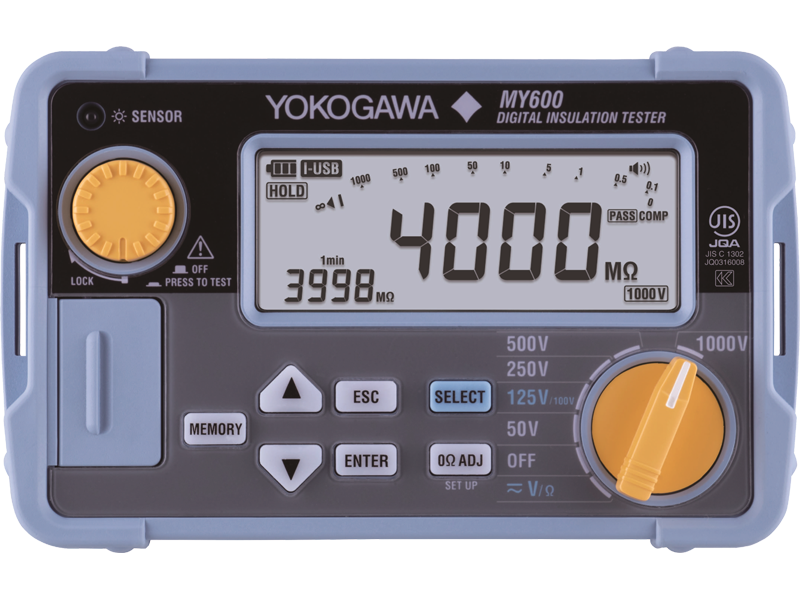"Digital Insulation Tester ""Yokogawa"" Model MY600"