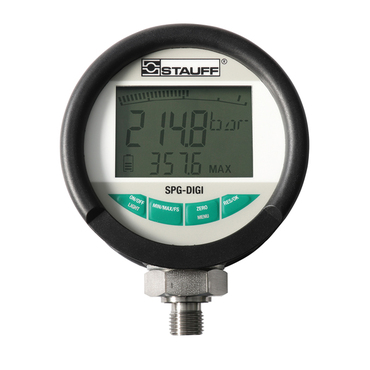 "Digital Pressure Gauge ""Stauff"" Model SPG-DIGI-B0400-B"