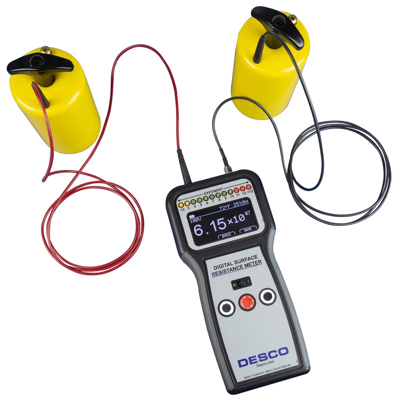 "Digital Surface Resistance Meter Kit ""Desco"" Model 19290"