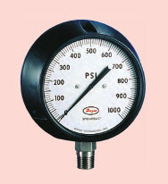 "Direct drive pressure gage ""Dwyer"" Model 7100B-G300"