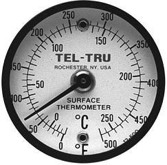 "Dual Magnet Thermometor 2"" dial ""Tel-tru"" model DM-012-250"