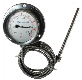 "Gas Actuated Thermometer 4""  ""RiTherm""  model 2400-A"