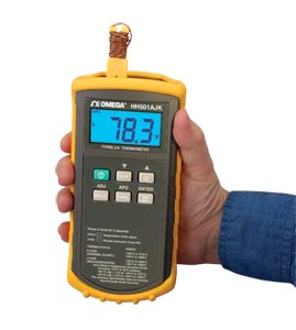 "Handheld Digital Thermometer ""Omega"" Model  HH501AJK"