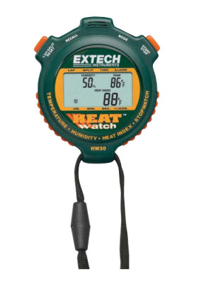 "Humidity/Temperature Heat Watch ""Extech"" model HW30"