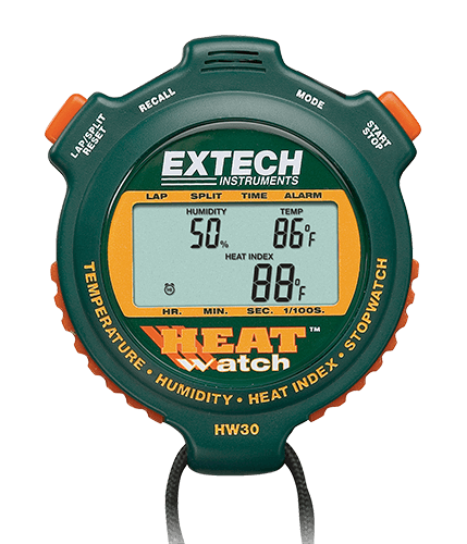 "Humidity/Thermometer Heat Watch ""Extech"" Model HW30"
