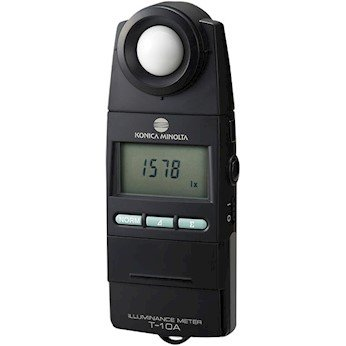 "Illuminance Light Meter ""Konica Minolta"" Model T-10A"