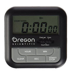 Two-in-One Talking Countdown Kitchen Timer with Digital Clock