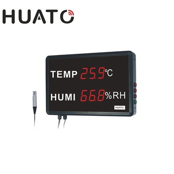 "LED display Thermometer hygrometer ""Huato"" Model HE218A"
