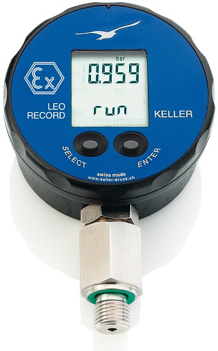 "LEO Record Ei Intrinsically Safe Digital Manometer ""Keller"""