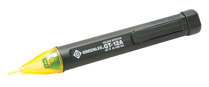 "Non-contact Voltage Detector ""Green Lee"" Model GT-12A"