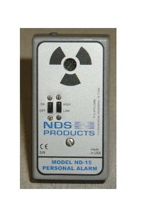 "Personal Alarm ""NDS"" Model ND-15"