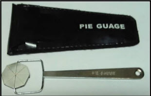 "Pie Gauge ""Western Instrument"" Model W-PG"