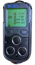 "Portable 4 Gas Detector ""GMI"" Model PS200"