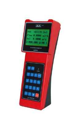 "Portable TOF Ultra Sonic Flow Meter  ""Alia""  Model AUF610-S/M-05"