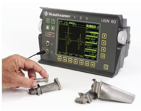 "Portable Ultrasonic Flaw Detector ""Krautkramer"" Model USN60"