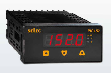 "Process Indicator with 2 Relay Output ""Selec"" Model PIC152N-A"