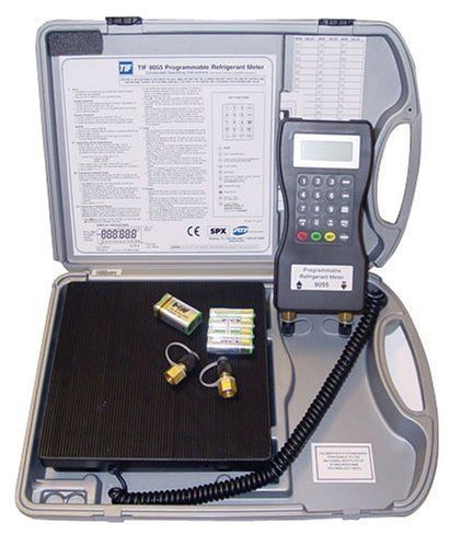 "Programmable Refrigerant Scale ""TIF"" Model TIF9055"