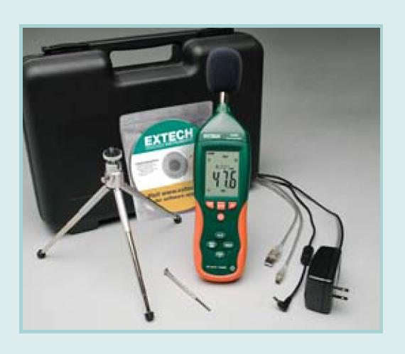 "Sound Level Meter ""Extech"" Model HD-600-NIST"
