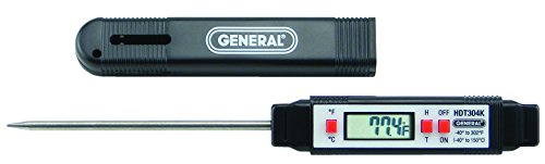 "Stem Digital Thermometer ""General Tools"" model HDT304K"