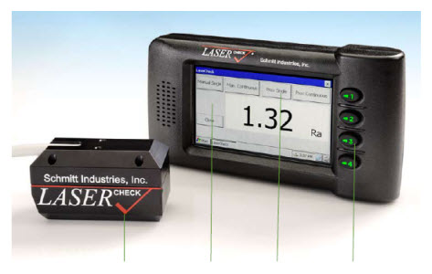 "Surface Roughness Gauge ""LaserCheck"" model 6212 Mini Head"