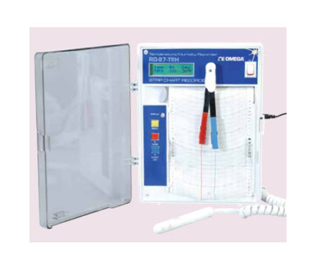 "Temperature/Humidity Recorder ""Omega"" Model RD-87-TRH-220V"