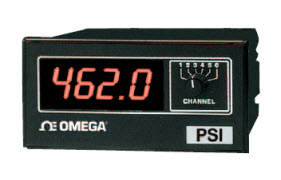 "1/8 Din Econimical Temperature Meter (Six Channel) ""Omega"""