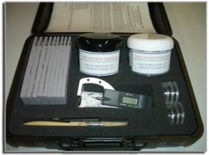 The Concrete Profiler - TCP Putty (ASTM D 7682- 10) - Deluxe kit