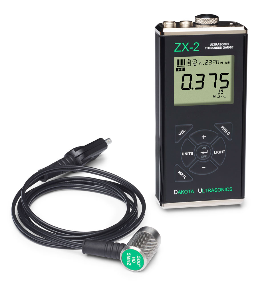 "Ultrasonic Thickness Gauge ""Dakota"" Model ZX-2"