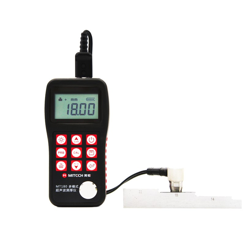 "Ultrasonic Thickness Gauge ""Mitech"" Model MT-180"