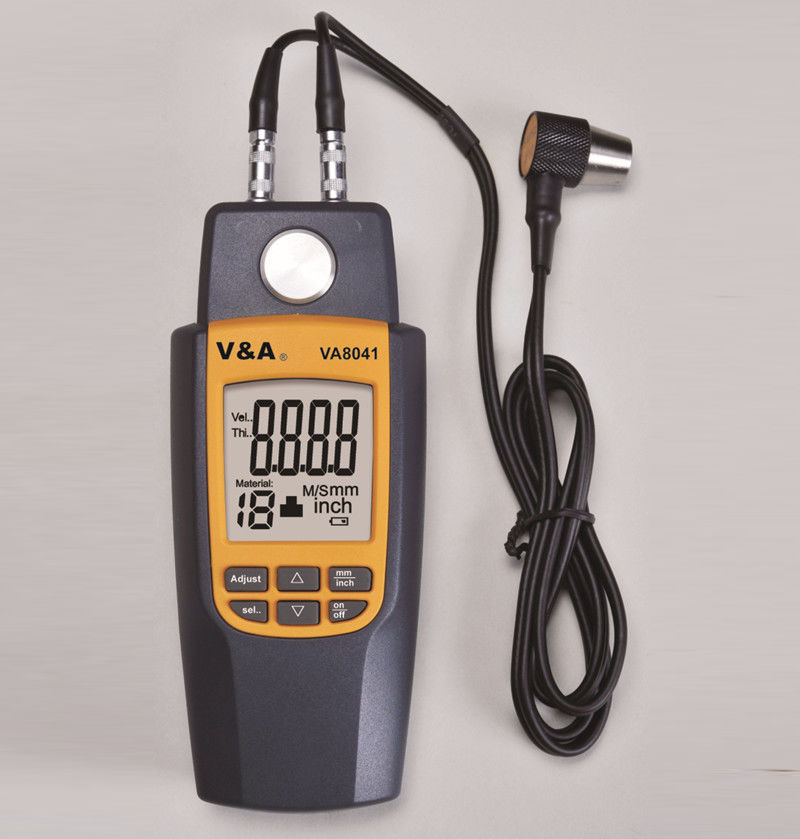 "Ultrasonic Thickness Gauge ""V&A"" Model VA8041"