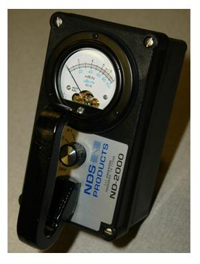 "Waterproof Radiographic Survey meter ""NDS"" Model ND-2000"
